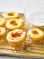 Martha Collison's orange blossom French crullers