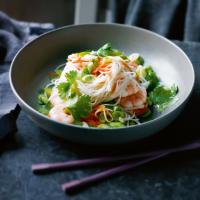 Prawn & rice noodle salad