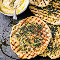 Quick spicy flatbreads
