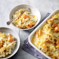 Roast butternut mac & cheese