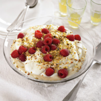 Raspberry and Limoncello Trifle
