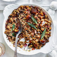 Sage, bacon and chestnut stuffing