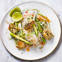 Sweet chilli chicken vermicelli