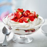 Summer Blush strawberry tiramisu