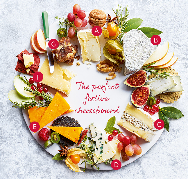 The perfect festive cheeseboard