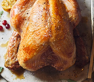 Waitrose 1 Free Range Dry Aged Bronze Feathered Turkey