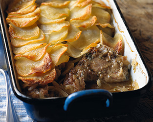 Ruth Rogers' marinated roast lamb