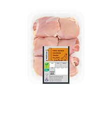 Waitrose 1 free-range British chicken thigh