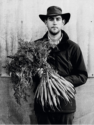 Joe Rolfe - Waitrose Duchy Organic carrot grower