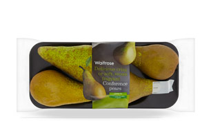 Waitrose Perfectly ripe Conference pears