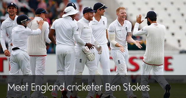 Meet England cricketer Ben Stokes