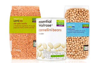 Shop beans and pulses