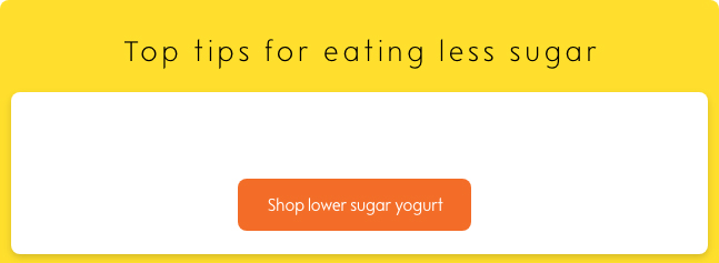 eat less sugar