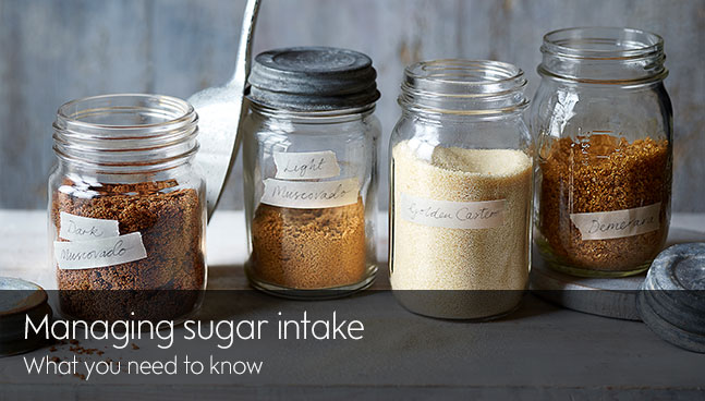 Managing sugar intake
