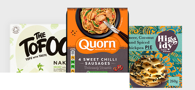 Shop vegetarian products