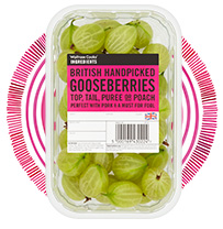 Waitrose British handpicked gooseberries