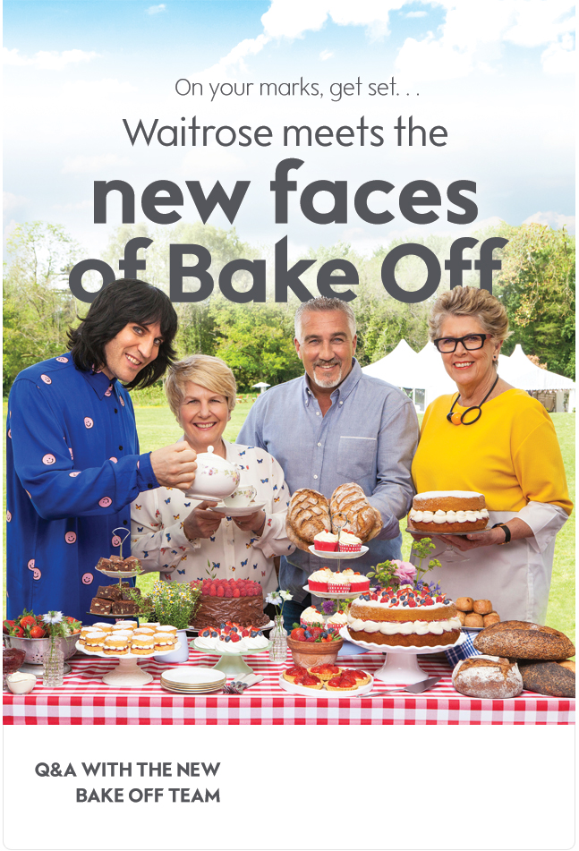 Great British Bake Off Q&A