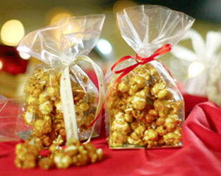 Salted caramel and cinnamon popcorn