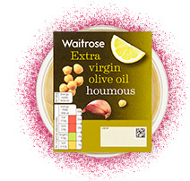 Waitrose Extra Virgin Olive Oil Houmous