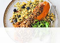 Stuffed butternut recipes by Waitrose & Partners