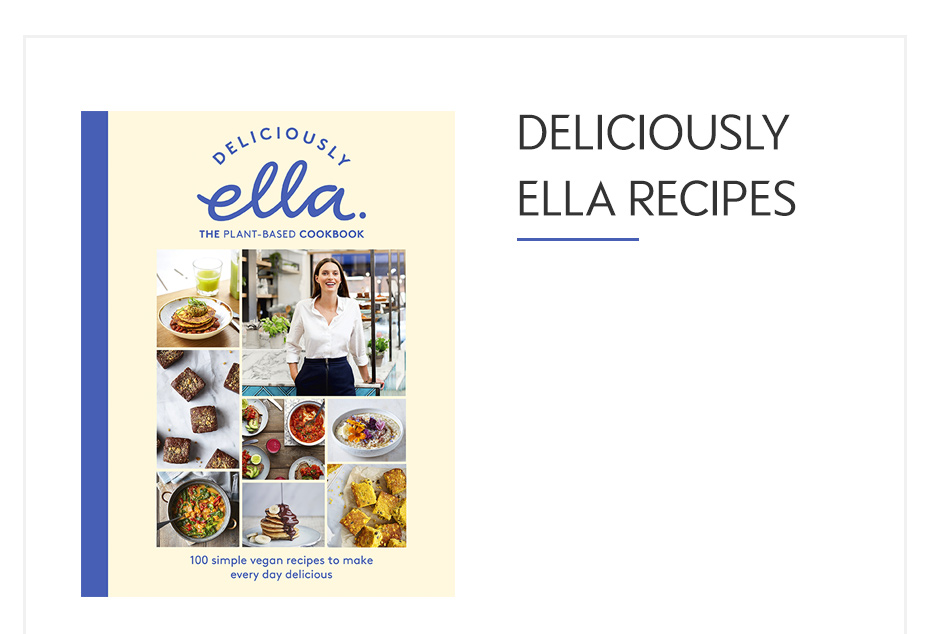 Delicious Ella recipes The Plant-based Cookbook