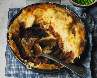 Cottage and shepherd's pie