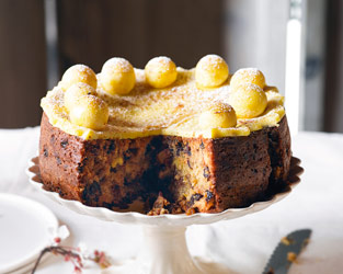Martha's traditional simnel cake