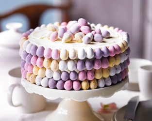 Martha's mini egg cake