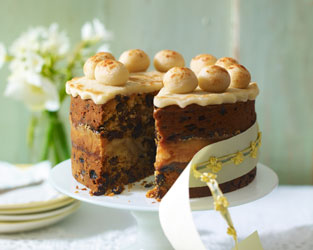 Traditional simnel cake
