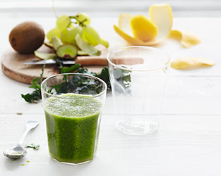 Winter green juice
