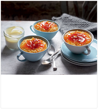 Seville orange & carrot steamed puds