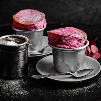 Blackberry Souffle