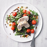 Chicken & puy lentil salad