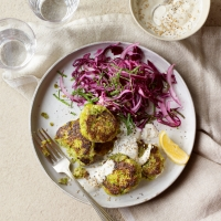 HEALTH_Chickpea-and-green-pea-cakes