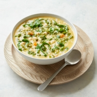 Italian-style spring soup