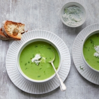 Pea-and-mint-soup