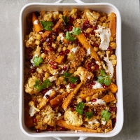Spiced-cauliflower