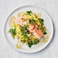 Thai spiced salmon