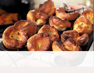 Sage and thyme Yorkshire pudding
