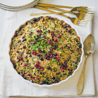 Baked couscous 'filling'