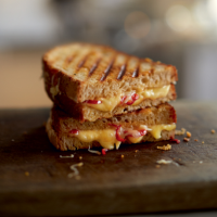 Chilli cheese sourdough toasted sandwich