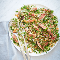 Fig, pistachio and mint tabbouleh