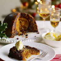 Heston's Cointreau butter - to go with Heston's Hidden orange Christmas pudding