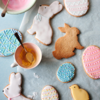Harry Eastwood's Easter sugar cookies