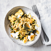 Kedgeree with cauliflower & spices