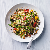 Lentil & vegetable couscous