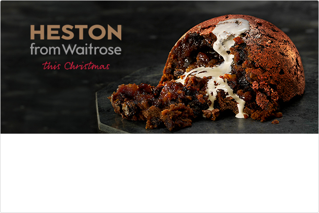 Heston from Waitrose Christmas