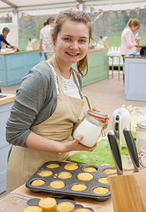 Martha in the Bake Off tent