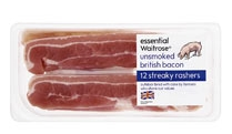 Waitrose bacon