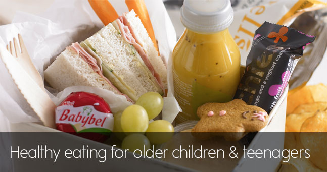 Healthy Eating For Older Children And Teenagers Waitrose